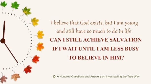 testimony, God's Will, Eastern Lightning, the Holy Spirit, salvation