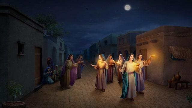 Wise Virgins, coming of the Lord,  Jesus' Return,